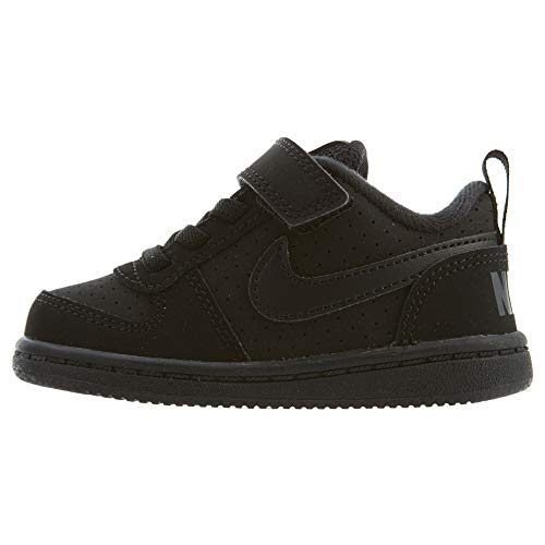 Nike Court Borough Low TDV Boys/Girls Style: 870029-001 Size: 8 (Nike Court Borough Girls Basketball Shoes Big Kids)