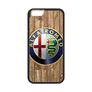 iphone6s 4.7 inch case , alfa romeo logo iphone6s 4.7 inch Cell phone case Black-YYTFG-22448
