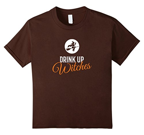 Kids Drink Up Witches Halloween T-shirt 4 (Casting Love Spells On Halloween)
