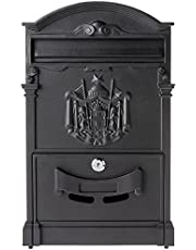 Fine Art Lighting Aluminum Mailbox, 10 by 3.5 by 16-Inch, Includes 2 Keys