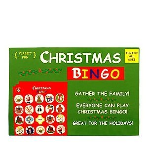 Anton Christmas Bingo