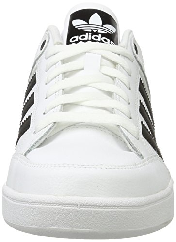 adidas Men's Varial Low, Footwear White/Core Black/Footwear White Footwear White/Core Black/Footwear White