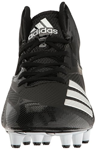 Scarpa Da Calcio Adidas Original Mens Freak X Carbon Mid Nero / Bianco / Argento Metallizzato