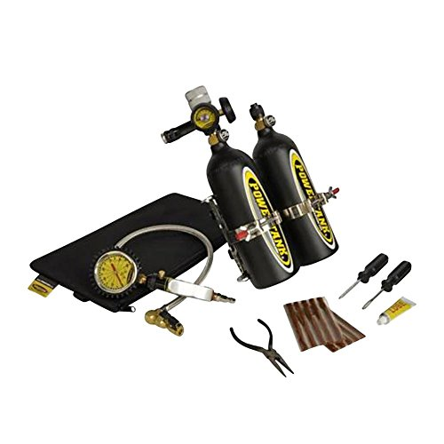 Double Bag Regulator System (Power Tank Double Barrel Sidearm with Bracket 1 1/2