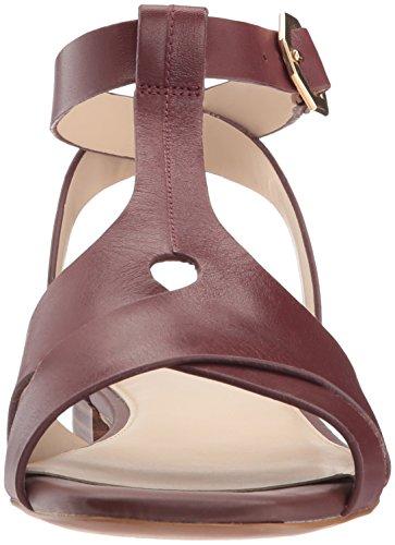 Cole Haan Mujer Leela Low Ii Flat Sandal Rum Raisin Leather