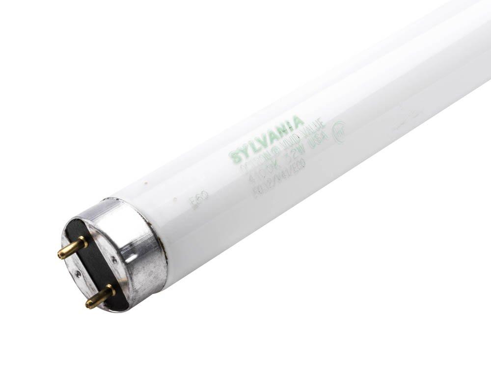 Sylvania 22438, 32 Watt, 48'' Length, CRI 90, Cool White Fluorescent Tube Light Bulb (30 Light Bulbs)