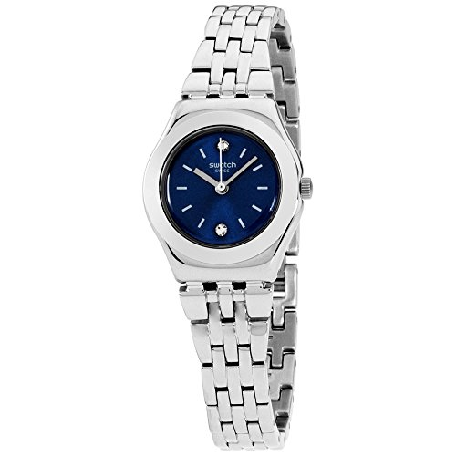 Swatch Irony Lady - Swatch Irony Sloane Blue Dial Stainless Steel Ladies Watch YSS288G