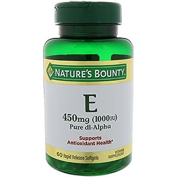 Nature S Bounty E  Iu Pure D Alpha