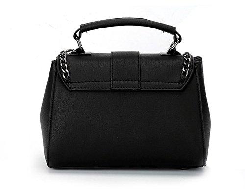Black Bag Shoulder Messenger New Wild Pink Bag Meaeo WUz8OwYRqW