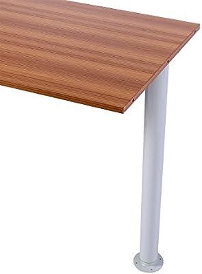 Pata de mesa de metal, 710-1100 mm, barra de desayuno ajustable ...