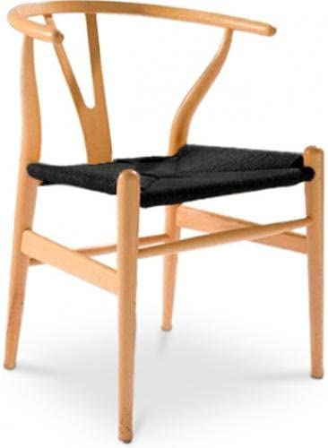 Chaise CH24 JWegner Wishbone Hans noire Style Assise GqUzMVSp
