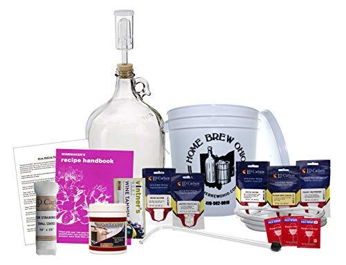 1 Gallon Wine from Fruit Kit