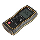 Fdit 11 Unit Portable Digital Manometer LCD Display Differential Manometer Air Gauges Pressure Meter Black