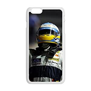 Happy Fernando Alonso White Phone Case for Iphone6 plus