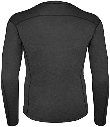 Carhartt Men\'s Force Heavyweight Thermal Base Layer Long Sleeve Pocket Shirt
