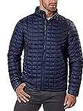 Ben Sherman Men's Quilted Lightweight Jacket (L, Navy)