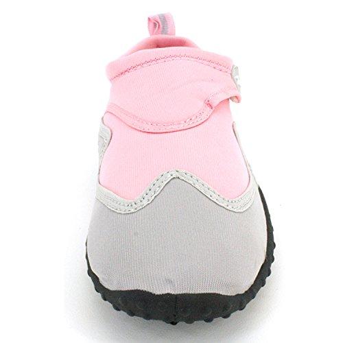 Breathable Shoes Material Women Aqua Pink gray Socks Protection and Just Aqua Speed Maximum Resistances Slip Feet RwtSxAfqY