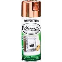 Rust-Oleum 1937830 Metallic Spray, Copper, 11-Ounce