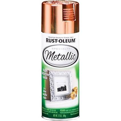 Rust-Oleum 1937830 Specialty Metallic Copper Spray Paint (Copper - 312  Grams)