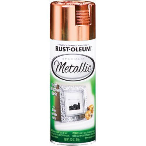 Rust-Oleum 1937830 Metallic Spray, Each, Copper
