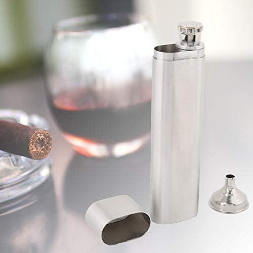 Fournyaa Heupsigaar en borrelhouder draagbare sigaar en borrelhouder glad oppervlak voor sigarenliefhebbers geschenken voor mannen alcoholliefhebbers sigarenhouder fles