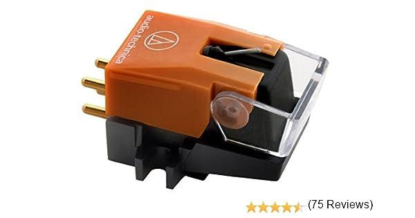 Audio-Technica AT120EB Cartucho de DJ y aguja: Amazon.es: Electrónica