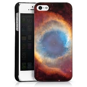 Carcasa Design Funda para Apple iPhone 5 HardCase black - Helix Nebel
