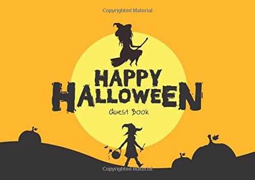 Guest Book Happy Halloween: Guest Book For Halloween Parties (Volume (Halloween Party Interior Design)