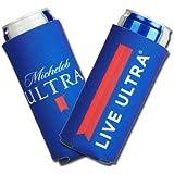 Michelob Ultra Slim Line 12oz Can Cooler Koozie