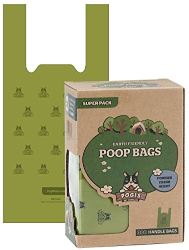 Pogis Poop Bags Earth Friendly Leak Proof product image