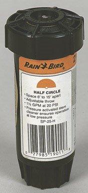 Rainbird National SP-25-H Half Pattern Nozzle Pop Up Sprinkl