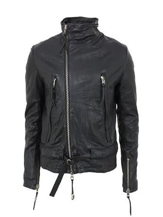 Leather Amore Black Trevor Bolongaro Jacket uk Em co