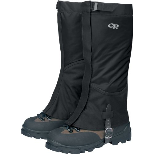 en's Verglas Gaiters, Black, Medium ()