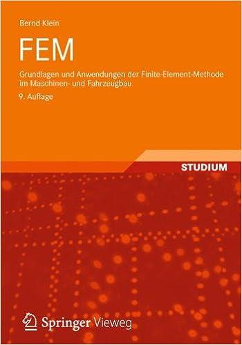 Book FEM: Grundlagen und Anwendungen der Finite-Element-Methode im Maschinen- und Fahrzeugbau