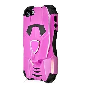 Pink Cobra Hybrid Gel Case Cover for Apple iPhone 5 + Pen Stylus