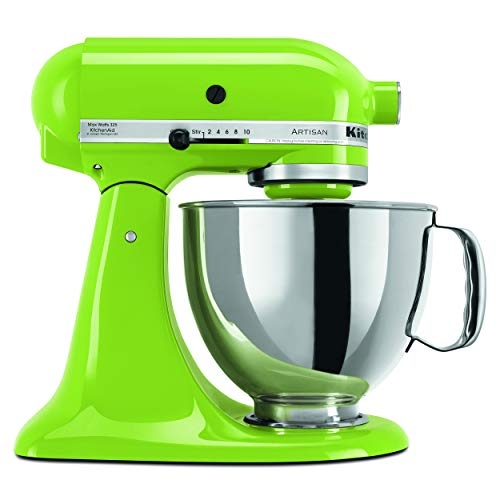 KitchenAid KSM150PSGA Artisan Series 5-Qt. Stand Mixer with Pouring Shield – Green Apple