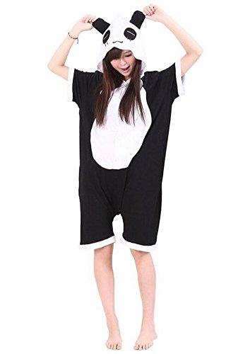 Dobelove Adult Cartoon Animal Pajamas Cosplay Costume Sleepwear (XL, Panda) ()