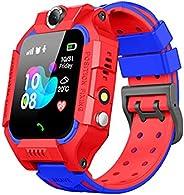 Smart Watch for Kids, IP68 Waterproof Smartwatch Phone with SOS Call Camera Games Flashlight Alarm Clock HD 1.