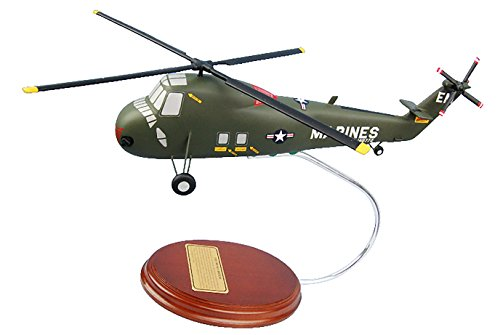 Mastercraft Collection UH-34D Sea Horse USMC Helicopter Moderl Scale: 1/56