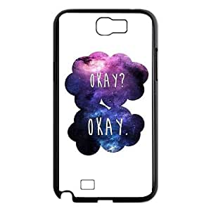 Samsung Galaxy N2 7100 Cell Phone Case Black OKAY ELX Plastic Phone Case For Girls