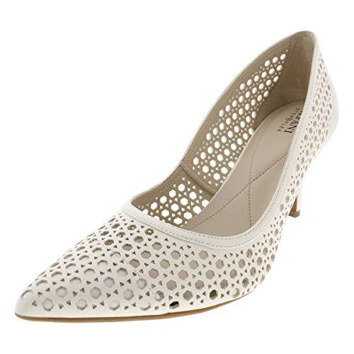 Alfani Womens Jennah Leather Pointed Toe Classic Pumps, Cotton, Size 9.5