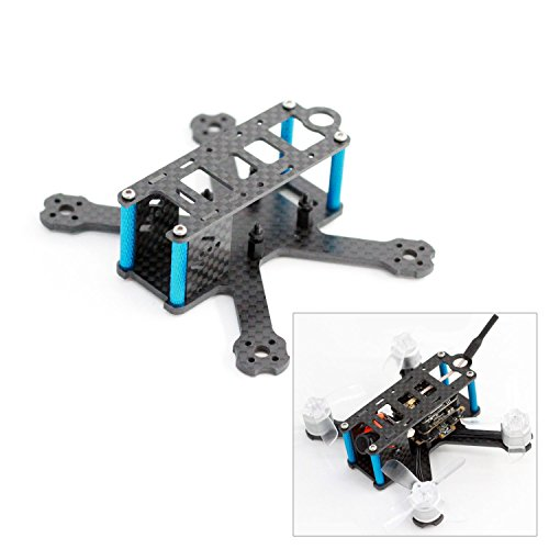 usmile A-Max 98H 98mm Micro Brushless Carbon Fiber Quadcopter Frame Mini quad fpv racing quad similar with QAV-R QAV-X RX220 RX230 ZMR220 Martian X Frame support Runcam Micro Swift