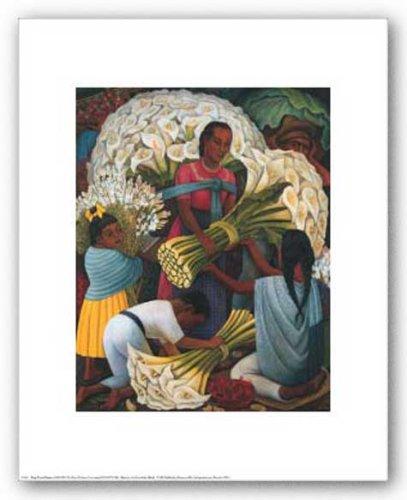 The Flower Vendor by Diego Rivera 11