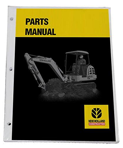 New Holland LW110.B Wheel Loader Parts Catalog Manual - Part Number # 7-9071na