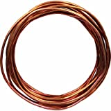 Southwire 10638583 Solid Bare Grounding Copper Wire, #6, 15'