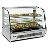 """34"""" Countertop Curved Glass Display Warmer 39536"""