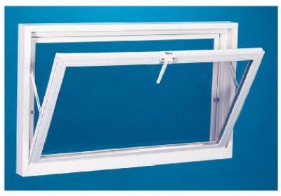 (Croft Metals P00350-1512-WHT 32.19 x 14 in. White Vinyl Basement Window)