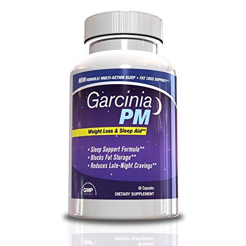 Force Garcinia PM-Extra Fat Burner et Sleep Aid, 60 capsules, approvisionnement de jour 30, hommes et femmes, perdre du poids rapidement pendant que vous dormez, Supplément taille de Trimmer, Sleep Aid et le supplément de perte de poids w / Garcinia Cambo