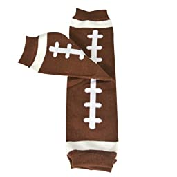 Wrapables Animals and Fun Colorful Baby Leg Warmers - Football