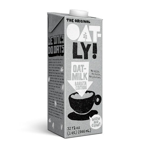 Oatly Original Oat Drink 1 Litre (Pack of 4), Barista Edition by Oatly